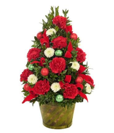 Lovely Boxwood Christmas Tree
