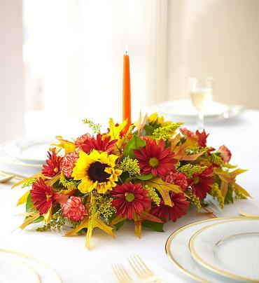 European for Fall Centerpiece