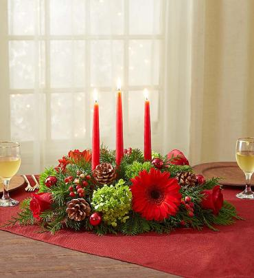 Lovely Christmas Centerpiece