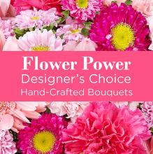 A Pink Colored Florist Designed Bouquet